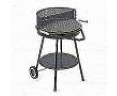 Grillchef Barbacoa de carbón 48.5 cm negra 74602