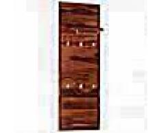 VidaXL Perchero de pared madera maciza de sheesham 118x40 cm