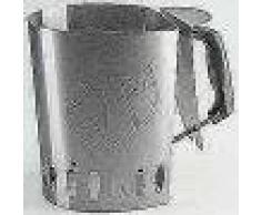 Landmann Chimenea de encendido de carbón para barbacoa plateada 15200