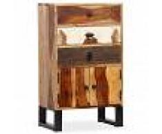 vidaXL Aparador de madera maciza de sheesham 50x30x86 cm