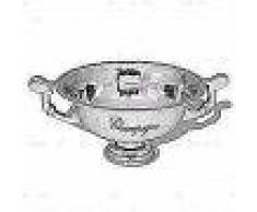 VidaXL Enfriador de champán copa trofeo de aluminio plateado