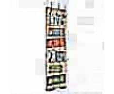 VidaXL Perchero de pared LIVE LIFE con 6 ganchos 120x40 cm