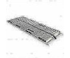 VidaXL Somier de láminas con 28 listones de 7 regiones 90x200 cm FSC