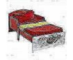 Disney Cama infantil Cars 142x59x77 cm roja WORL320002
