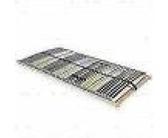 VidaXL Somier de láminas con 42 listones de 7 regiones 100x200 cm FSC