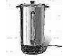 VidaXL Hervidor calentador de agua y vino