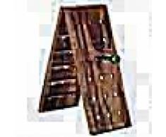 VidaXL Botellero para 36 botellas de madera maciza de sheesham