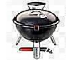 Landmann Barbacoa de carbón Piccolino 34 cm negra 31382