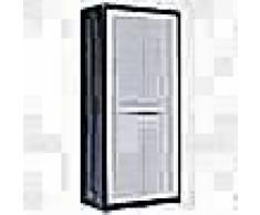 VidaXL Armario de almacenamiento para jardín XL 78x46x175 cm plástico