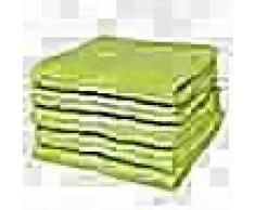 VidaXL Toallas de baño 5 uds algodón 500 gsm 50x100 verde manzana