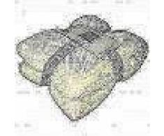 Gusta Manta polar Pompon 152x127 cm marfil 04125080