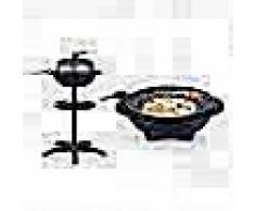 Tristar Barbacoa eléctrica de mesa y soporte BQ-2823 1600 W 42cm negra