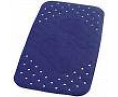 RIDDER Alfombrilla de baño antideslizante Plattfuß 72x38 cm azul 67063