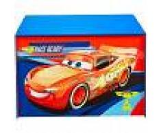 Disney Caja para juguetes Cars 60x40x40 cm azul WORL320020