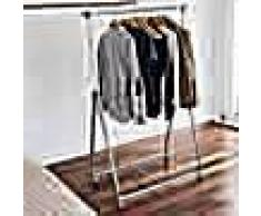 Storage solutions Perchero burro para colgar ropa 4 ruedas metal