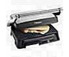 Bestron Parrilla grill ASW118 de 2000 W color plateado