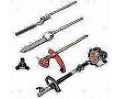 VidaXL Cortasetos sierra de cadena desbrozadora y recortador de césped