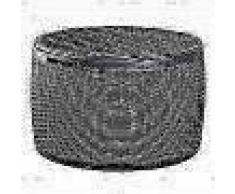 Keter Caja de almacenaje de exterior Circa ratán gris antracita 238308