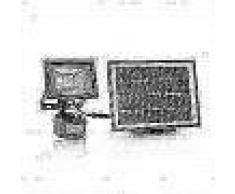 Smartwares Reflector seguridad solar con sensor PIR negro SFL-180-MS