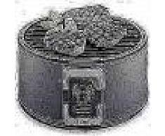 Trebs Barbacoa portátil carbón 35 cm negra con bolsa transporte 99338