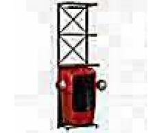 VidaXL Botellero forma de tractor 49x32x183 cm madera maciza de mango