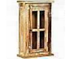 VidaXL Armario de pared de madera maciza reciclada 44x21x72 cm