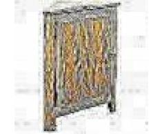 VidaXL Armario de esquina de roble 59x36x80 cm