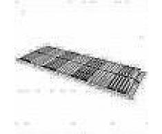 VidaXL Somier de láminas con 42 listones de 7 regiones 90x200 cm FSC