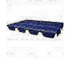 VidaXL Dosel de reemplazo para columpio de jardín 249x185 cm azul