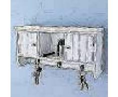 VidaXL Armario de pared para llaves y joyas con puertas y ganchos