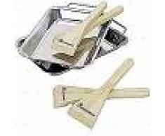 Landmann Minibandejas de barbacoa con rasquetas 13711