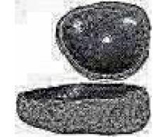 VidaXL Lavabo de piedra natural ovalado 46-52 cm