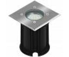 Smartwares Foco empotrado de suelo LED 3 W negro 5000.459
