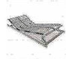 VidaXL Somier de láminas con 28 listones FSC 7 regiones 90x200 cm