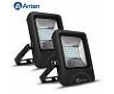 2X 30W 3600LM IP66 Floodlight LED Foco Proyector LED para Exterior