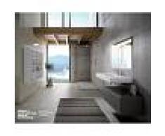 Visobath Conjunto de baño mueble, lavabo y espejo - Element.01- Visobath