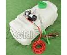 GeoTech Depósito para tratamientos fitosanitarios de 100 litros para tractores cortacésped - eléctrico