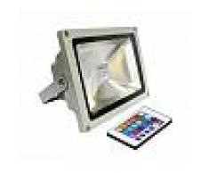 Proyector Led de exterior MICROLED, 30W, RGB, RGB