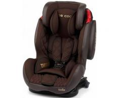 Silla De Auto Thunder Isofix Be Cool Grupo I/ii/iii Brownie Marrón