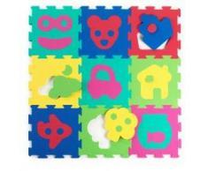 Alfombra De Actividades Puzzle Baby To Love 10m+ Azul Puzzle