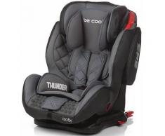 Silla De Auto Thunder Isofix Be Cool Grupo I/ii/iii Gris Moonlight