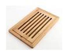 TAKETOKIO Tabla de bambú para cortar pan. TakeTokio