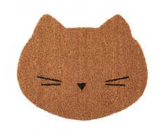 Felpudo de gato de fibra de coco 38x45