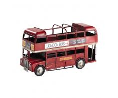 Portalápices rojo autobús de dos pisos