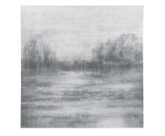 Lienzo de paisaje gris 120x120