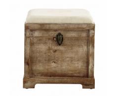 Banco baúl de madera An. 39cm CASCABELLE