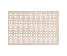 Mantel individual de plástico dorado con motivos gráficos