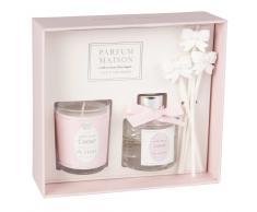Juego de vela perfumada y difusor de perfume corazón de flor 30ml