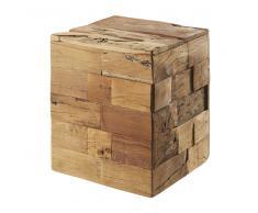 Taburete de madera reciclada