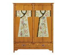 Armario estampado de madera An. 150 cm Kimono